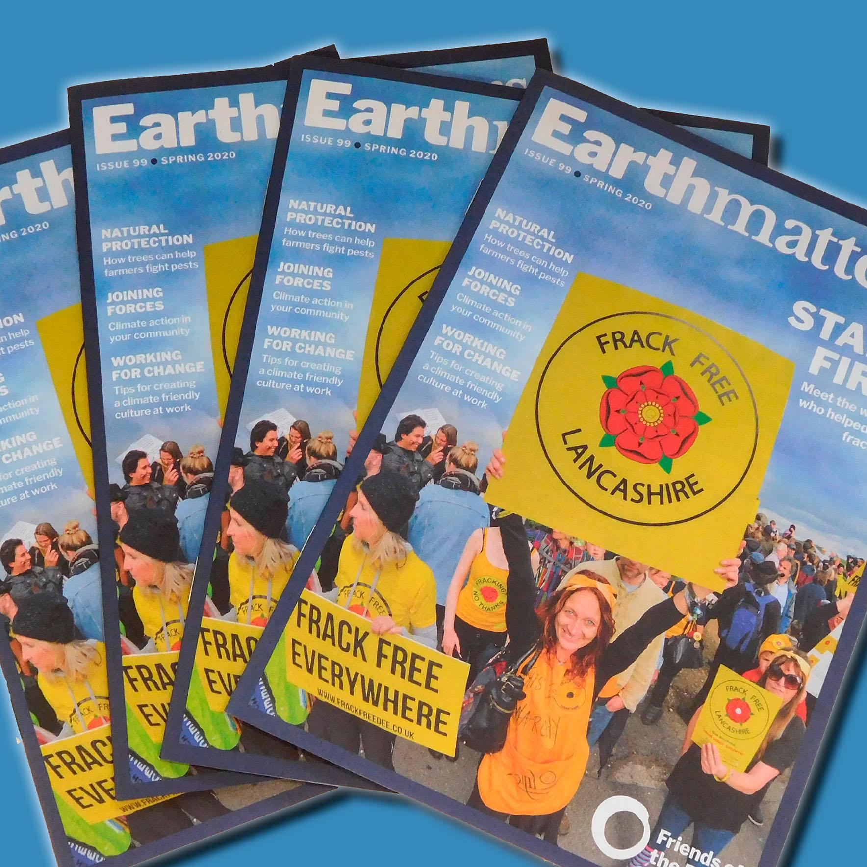 Friends of the Earth – Earthmatters magazine